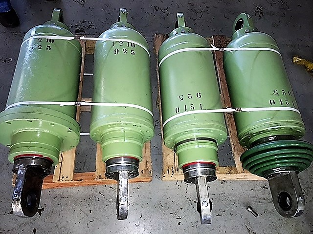 babcock and wilcox pulverizer mill pneumatic bag cylinder set